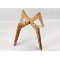 China Impact Resistant Beech Wood Legs , Replacement Dining Chair Legs wholesale