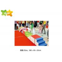 China Various Color Foam Climbing Mats , Soft Play Centre Equipment Long Service Life wholesale