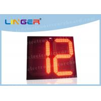 China 2 Digits Big Digit Countdown Timer , Countdown Digital Clock For Countdown Seconds wholesale