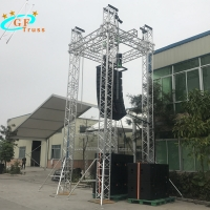 China Silver Color Sound System Speaker 12M Line Array Truss wholesale