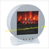 Quality Energy Saving Portable square Desktop Electric Fireplace 50Hz / 60Hz 20-30m2 for sale