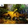 China Garden Animal StatuesFor Dinosaur Statue Park , Velociraptor Lawn Ornament wholesale