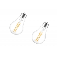 China Glass Material PF0.5 Life 15000hrs Dimmable Ra80 LED Filament Lamp wholesale