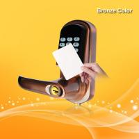 China Hotel Security Keyless Card Entry Door Locks Low Battery Voltage Warning on sale
