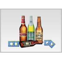 China Beer Label Vacuum Metallized Paper Laminate Sheets Chemical Type , Width 200mm-2000mm wholesale