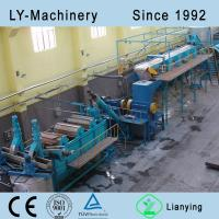 Quality pet bottle crushing washing drying recycling line for sale