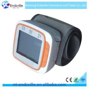 China Digital design min wrist blood pressure monitor for health care on sale