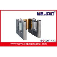 Quality High Class Turnstile Entry Swing Barrier Gate Systems For Upscale Community for sale