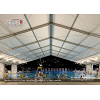 China Outdoor huge space sport stadium tent for swimming pool, 20x50m Swimming pool tent event marquee tent for swimming sport wholesale