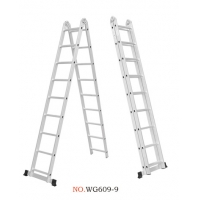 China Non Insulated 5.02m 2X9 Joint Step Ladder wholesale