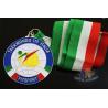 China Taekwondo Racing Marathion Swiming Custom Sports Medals Soft Enamel Transparents Color wholesale