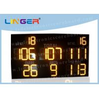 China Multi - Function LED Cricket Scoreboard Electronic CE / RoHS Approved wholesale