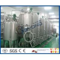 Buy cheap Soft Drink Beverage Industry Carbonated Water Plants , Full Automatic Energy Drink Production Line from wholesalers