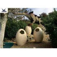 China Animatronic Giant Dinosaur Eggs Models For Jurassic Park Decoration 5 Meters wholesale