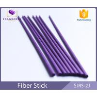 Quality 4cm*30mm Fashion Style Colored Reed Rattan Purple Fiber Reed Diffuser Sticks for Home Fragrance for sale