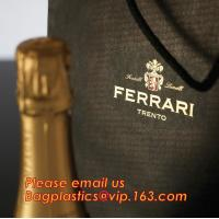 China luxury paper carrier bag wholesale paper bags with handle, decorative luxury recyclable fashion paper bags with your own wholesale