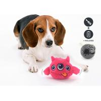 Safe Battery Operated Dog Ball , Eco Friendly Plastic ABS Dog Training Toys for sale
