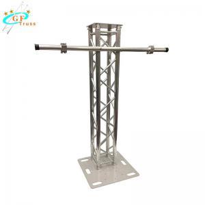 China Spigot Aluminum Lighting Truss Safety Span 50*3mm Main Tube wholesale