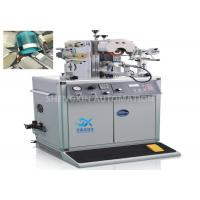 China Semi - Automatic 700W Hot Foil Stamping Machine For Irregular Shape wholesale