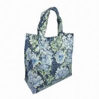 China Cotton Lunch Bag with PVC Coating on sale