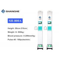 China Ultrasonic Digital Height Weight BMI Blood Pressure Machine With Window 10 System on sale