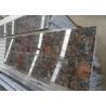 China Tan Brown English Brown polished coffee brown exterior wall cladding Granite stone tiles slabs wholesale