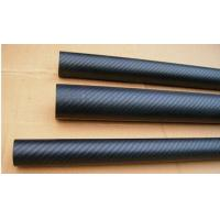 Semi-gloosy carbon fiber tubes pipes poles
