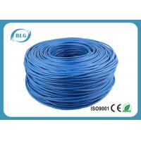 China Networking Cat 6 Network Cable 1000 FT 4 Pairs Unshield BC / CCA Customized Color wholesale