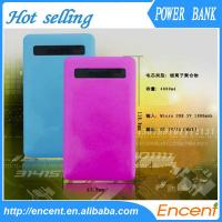 Quality 4000mAh Power Bank Exteranl Polymer Battery Mobile Charger for sale