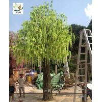 China UVG trees are artificial with wisteria blossoms for party and beach wedding decoration WIS013 wholesale