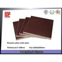 China Brown Phenolic Insulation Sheet with High Mechanical Strength wholesale