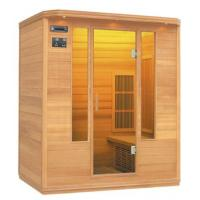 China Red Cedar Far Infrared Sauna House (FIS-04LC) on sale