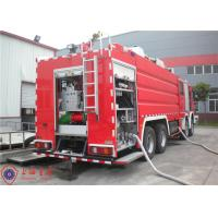China Mercedes Chassis Light Fire Truck 6 Seats Pump Flow 140L/S With Electrical System wholesale