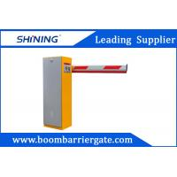 Quality 220V/110V 30m Remote Control Boom Barrier Gate With Vehicle Loop Detector wholesale