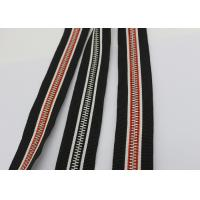 China Garments / Bags Brass Long Chain Zipper Silver Teeth Polyester / Cotton / Aramid Tape wholesale