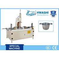 China Stainless Steel Welding Machine , Soup Pot Double Handle Projection Welding Machine wholesale