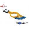 China PON G657A1 2x32 PLC Splitter , 2.0mm SC Connectors Fiber Optic PLC Splitter wholesale