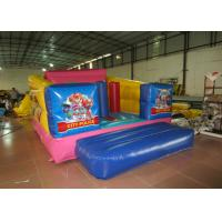 China Durable Custom Made Inflatables Bounce House Slide Combo Digitally Printing 4 X 3 X 2.2m wholesale