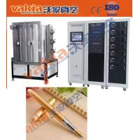 Quality PVD Gold Plating Machine on Pen, TiN Vacuum Coating Equipment Heat Resistant wholesale