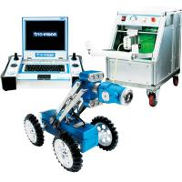 China CCD Camera Robotic Crawler Pipe Inspection System , Duct Inspection Robot wholesale