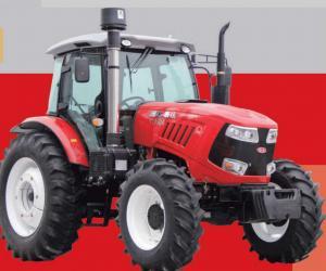 China 80hp Wheel Horse Garden Tractor , 2200r/Min Farmers Trader Tractors wholesale