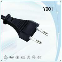 Quality VDE approval PVC FLAT electrical power cord for sale