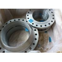 China Long Weld Neck Stainless Steel Pipe Flange Plate Class 150LBS ~ 3000LBS Rate wholesale