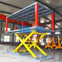 Buy cheap 5t 3m Hydraulic Car Lift for Home Garage Basement Stackable Car Parking System from wholesalers