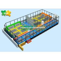 Buy cheap Adventure Alititude Childrens Outdoor Trampoline 162 ㎡ Space High Safety from wholesalers