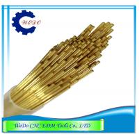 China 0.5x400mmL Double Hole EDM Brass Tube / Eletrode Tube For EDM Drill Machine wholesale