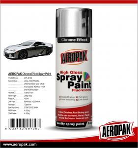 China Aeropak Spray Paint Chrome Effect on sale