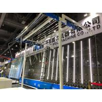 Buy cheap CE / UL Window Double Glass Machine Vertical Flat Pressing Production Line from wholesalers