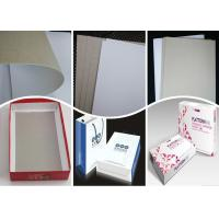Buy cheap 400Gsm 0.5mm Coated Duplex Board Paper Grey Back for Folding Box from wholesalers