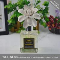 China Exquisite Ceramic Scent Diffuser , Ceramic Flower Fragrance Diffuser ITS Approved wholesale